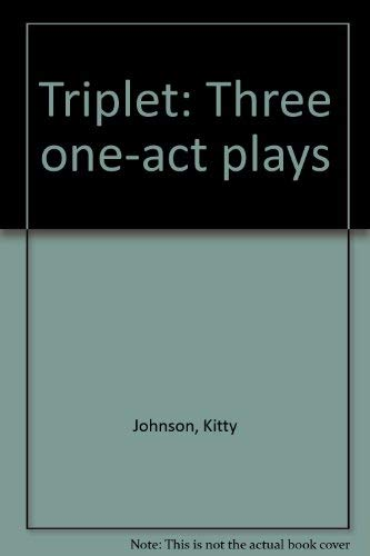 9780573692901: Triplet: Three one-act plays