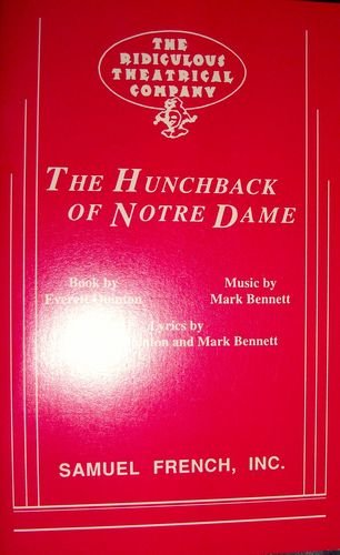 9780573693601: The hunchback of Notre Dame: A quasi-musical freely adapted from the novel by Victor Hugo