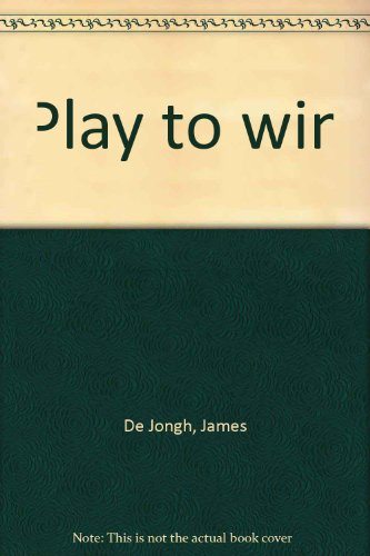 Play to win: James Foster
