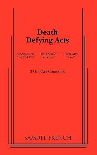 9780573695391: Death Defying Acts