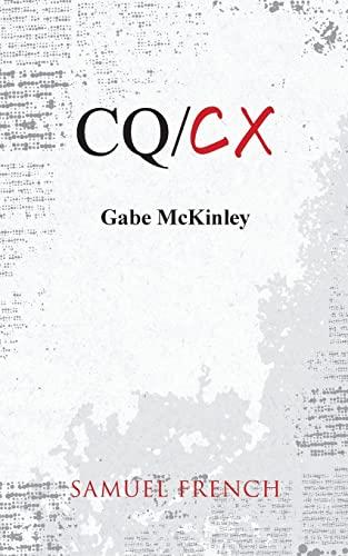 9780573701702: CQ/CX