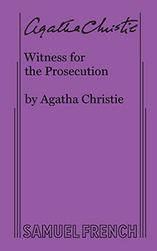 9780573702303: Witness for the Prosecution