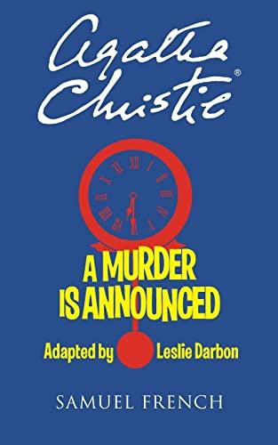 9780573702457: A Murder Is Announced
