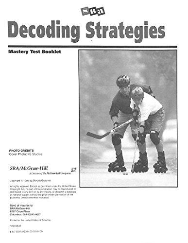 9780574103437: SRA Decoding Strategies B2 Mastery Tests 1,2 Test Booklet