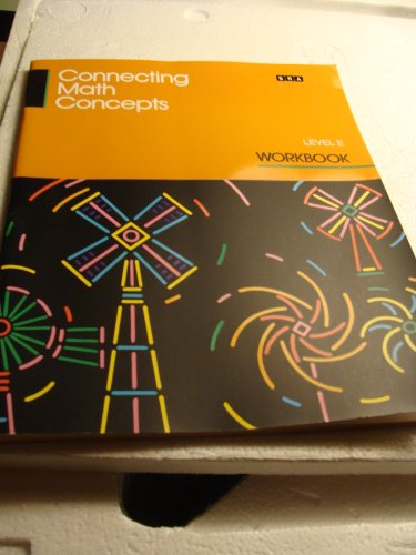 9780574156624: Connecting Math Concepts Workbook Level E