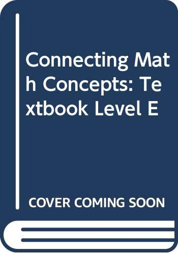9780574156648: Connecting math concepts [Hardcover] by Engelmann, Siegried