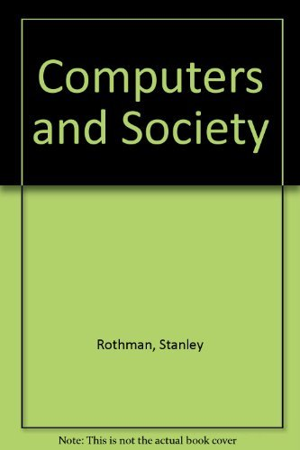 9780574161314: Computers and Society