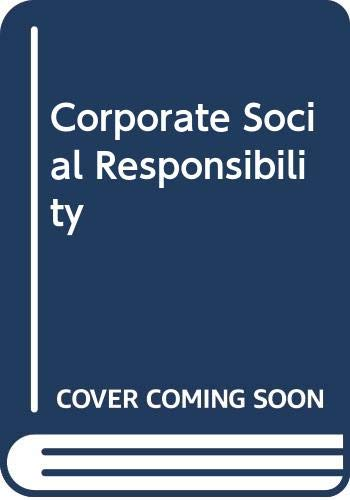 9780574179302: Corporate Social Responsibility