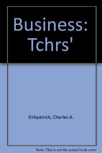 9780574184924: Business: Tchrs'