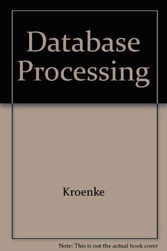 9780574186423: Database Processing