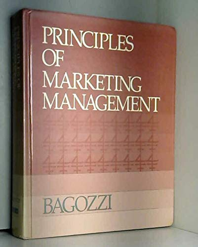 9780574193353: Principles Marketing Management