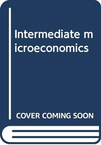 9780574194206: Intermediate microeconomics