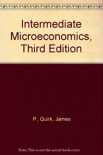 9780574194602: Intermediate microeconomics