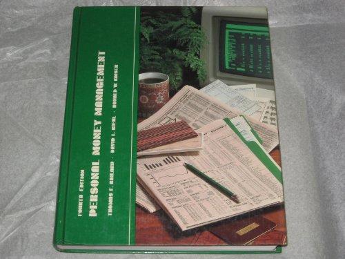 Personal Money Management: Thomas E. Bailard,
