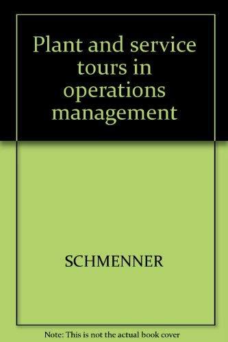 9780574195951: Plant Service Tours Oper Manag
