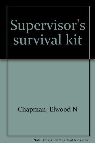 9780574206350: Supervisor's survival kit