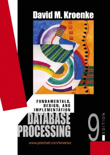 9780574211002: Data Base Processing: Fundamentals, Modelling, Applications