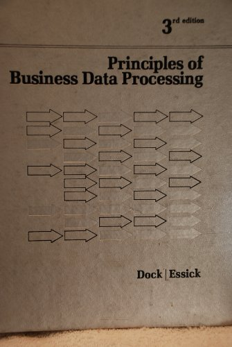 9780574211309: Principles of Business Data Processing