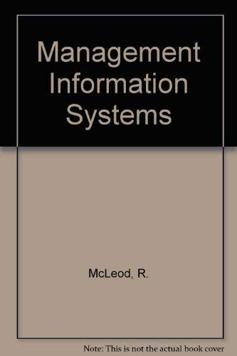 9780574212450: Management Information Systems