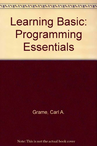 9780574213709: Learning Basic: Programming Essentials