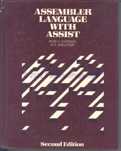 9780574214355: Assembler language with ASSIST