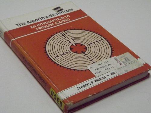 9780574217356: Algorithm Process Introduction Problem S (The SRA computer science series)
