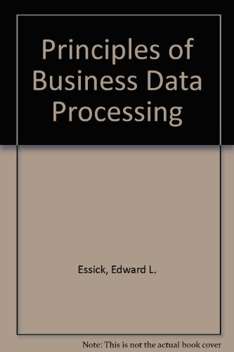 9780574219350: Principles of Business Data Processing