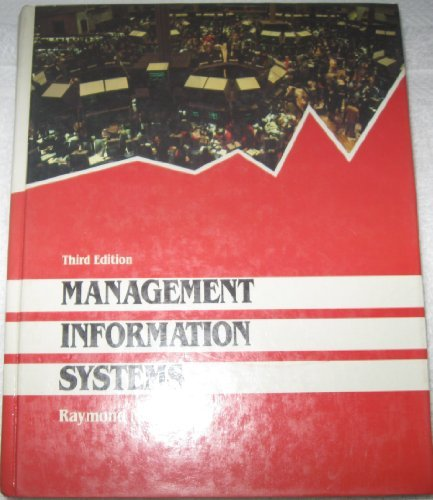9780574219954: Management Information Systems