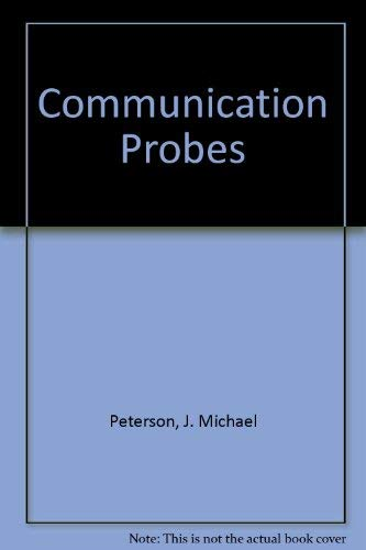 9780574225757: Communication Probes
