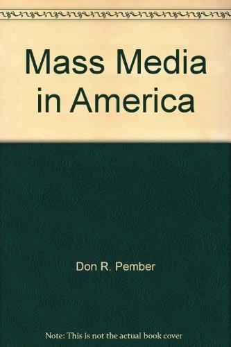 9780574227256: Mass media in America