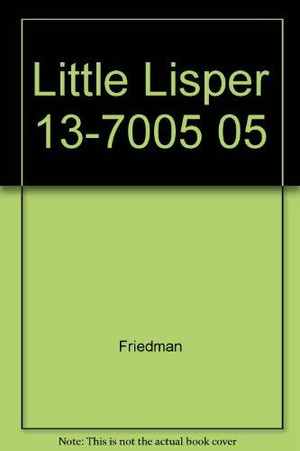9780574240057: Little Lisper 13-7005 05