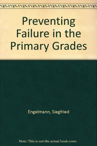 9780574500519: Preventing Failure in the Primary Grades