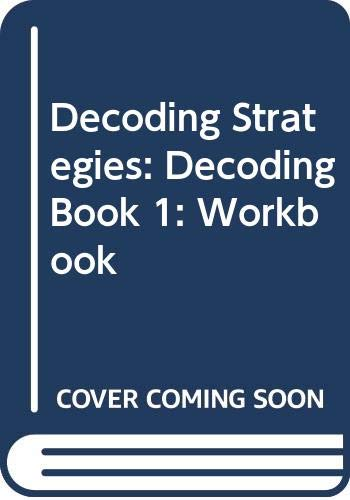 9780574789709: Decoding Strategies: Decoding Book 1: Workbook