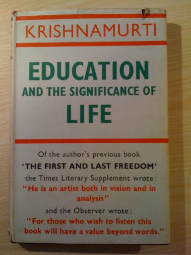 9780575001046: Education and the Significance of Life