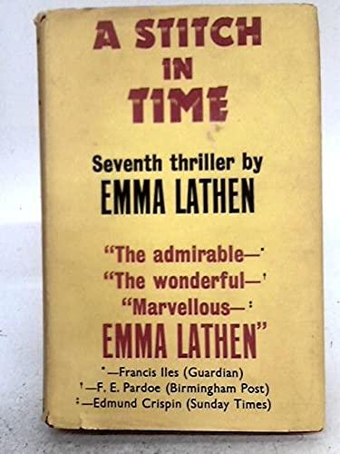 9780575001626: Stitch in Time