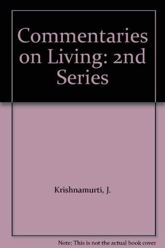 9780575004177: Commentaries on Living: 2nd Series