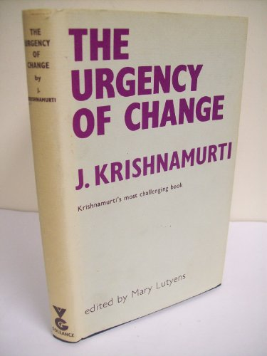 9780575006355: Urgency of Change