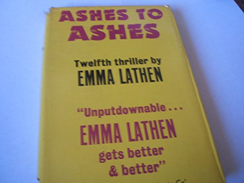 Ashes to Ashes: Lathen, Emma