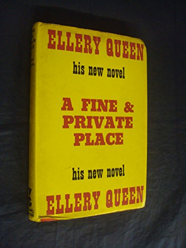 A Fine & Private Place.: Queen, Ellery