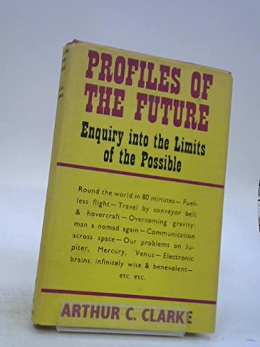 9780575009110: Profiles of the Future