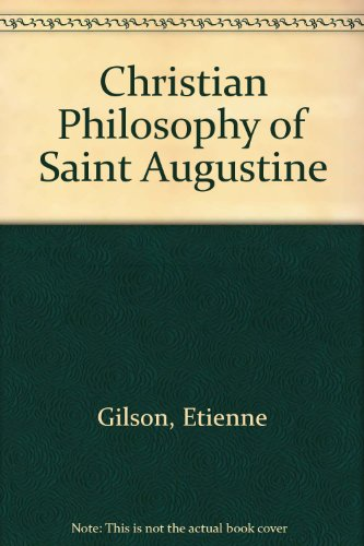9780575009684: Christian Philosophy of Saint Augustine