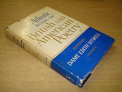 9780575011922: Atlantic Book of British and American Poetry