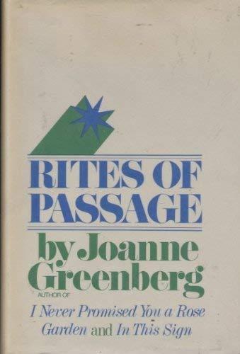 9780575014671: Rites of Passage