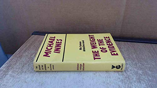 The Weight of the Evidence: Innes, Michael