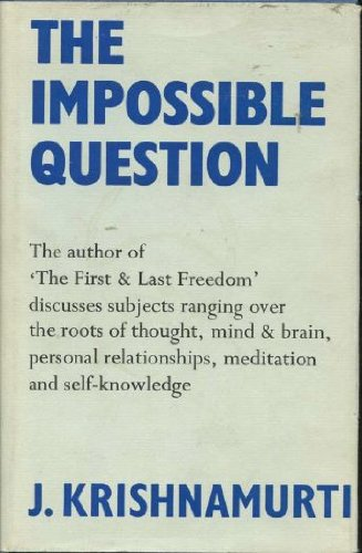 9780575015562: The Impossible Question