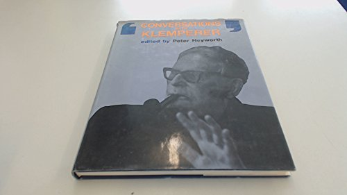 9780575016521: Conversations with Klemperer;