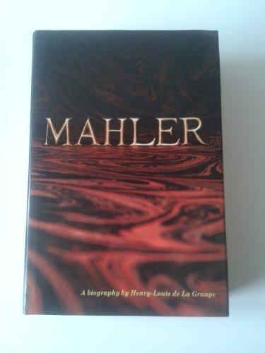 9780575016729: Gustav Mahler: v. 1