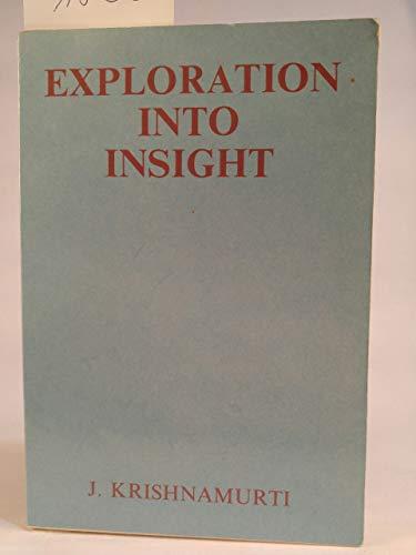 9780575027213: Exploration into Insight