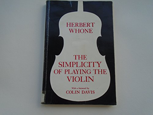 9780575027534: Simplicity of Playing the Violin