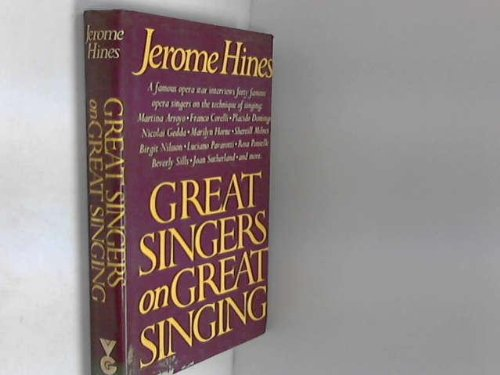 9780575032460: Great Singers on Great Singing